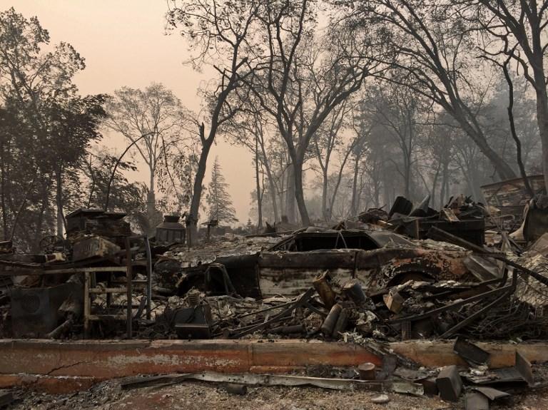 Jelentősen nőtt a kaliforniai tűzvész eltűntjeinek száma