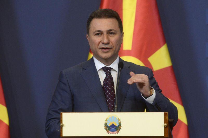 Elfogatóparancsot adtak ki a volt macedón miniszterelnök ellen