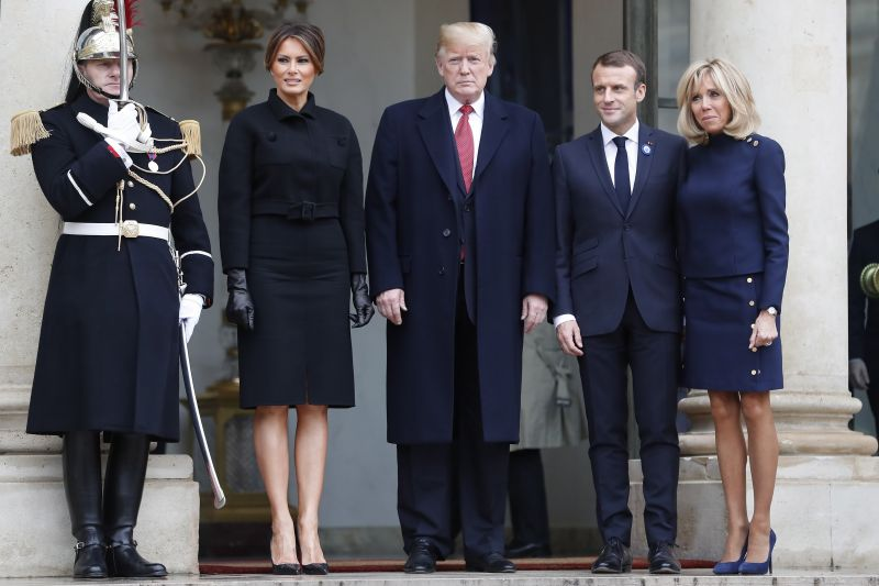Az európai védelemről egyeztet Macron és Trump
