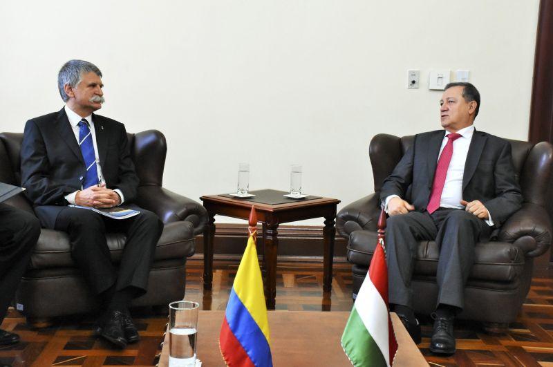 Kolumbiában tárgyal Kövér László házelnök
