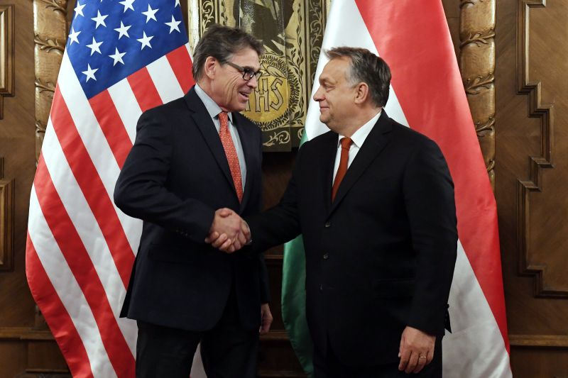 Orbán: kiválóak a magyar-amerikai kapcsolatok
