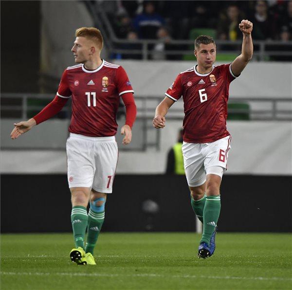 Megverte az észteket a magyar labdarúgó-válogatott, de messze került a csoport második helye