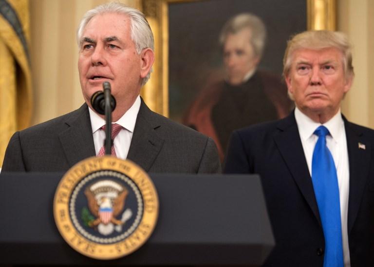 Lekőbunkózta volt külügyminiszterét Trump