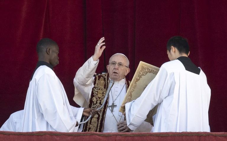 A szíriai, jemeni és izraeli békéért szólalt fel a Pápa karácsonyi üzenetében