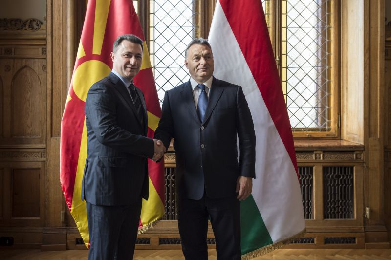 Az Anker közben fényképezték le a Budapesten bujkáló macedón exelnököt – fotó