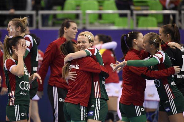 Fontos győzelmet aratott a spanyolok ellen a magyar női kézilabda-válogatott