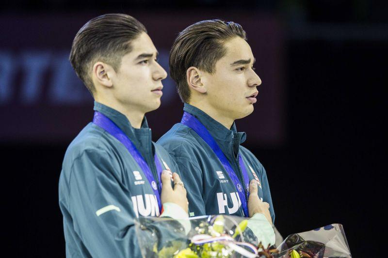 Rövidpályás gyorskorcsolya Eb – Liu Shaolin megszerezte első összetett bajnoki címét