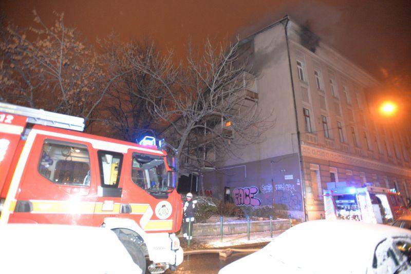 Középkorú férfi halhatott meg a kollégiumi tűzben