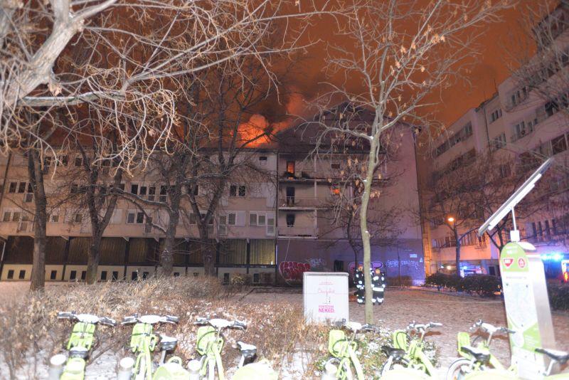 Halálos tűzvész egy budapesti kollégiumban