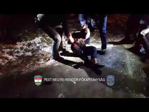 Videó: Így teperték le a rendőrök a sorozatbetörőt
