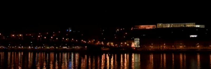 Csak Orbán és Áder palotája marad kivilágítva éjfél után a budai várban