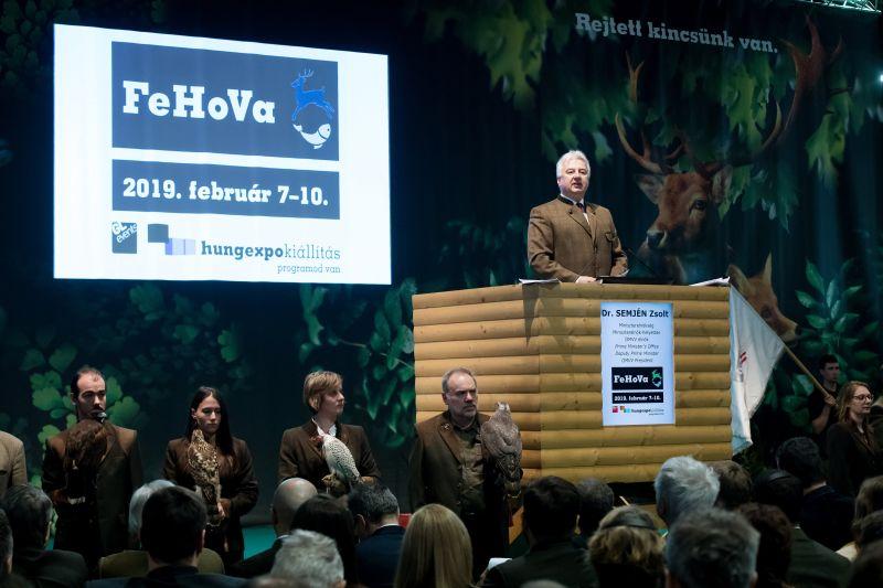 Megnyílt a 26. FeHoVa, Reviczky Gábor a Magyar Erdők Nagykövete lett