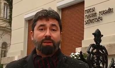 """Hidvéghi: ismét tüntet Budapesten a """"Soros-lista"""""""
