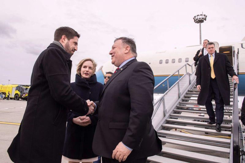Megérkezett az amerikai külügyminiszter Budapestre – képek