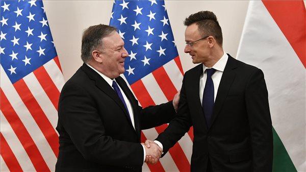Szijjártó: javulnak a magyar-amerikai politikai kapcsolatok