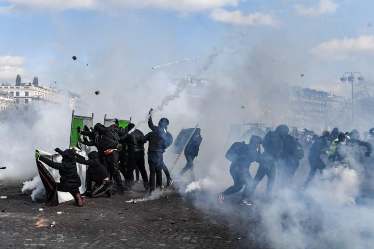 Újabb zavargás tört ki Párizsban