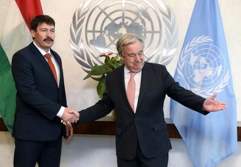 ENSZ: Magyarország példaértékű
