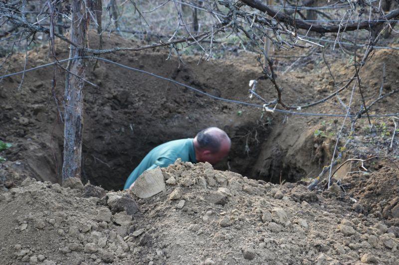 Elásott női holttestet találtak a Somogy megyei Öreglakon