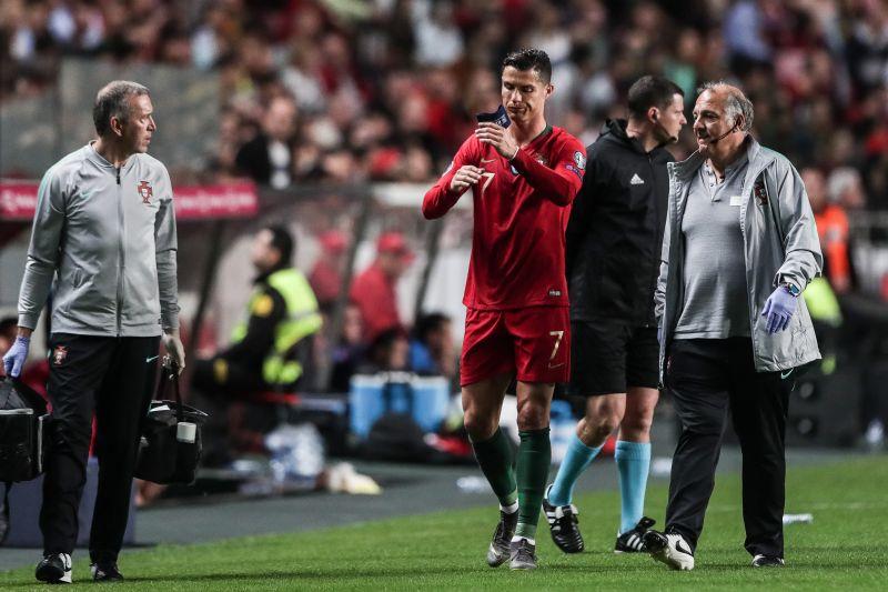 Ronaldo megsérült – elárulta, mennyit kell kihagynia