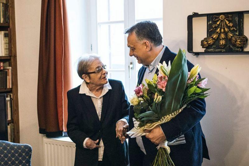 Törőcsik Mari nagyon feltöltődött Orbán látogatásától