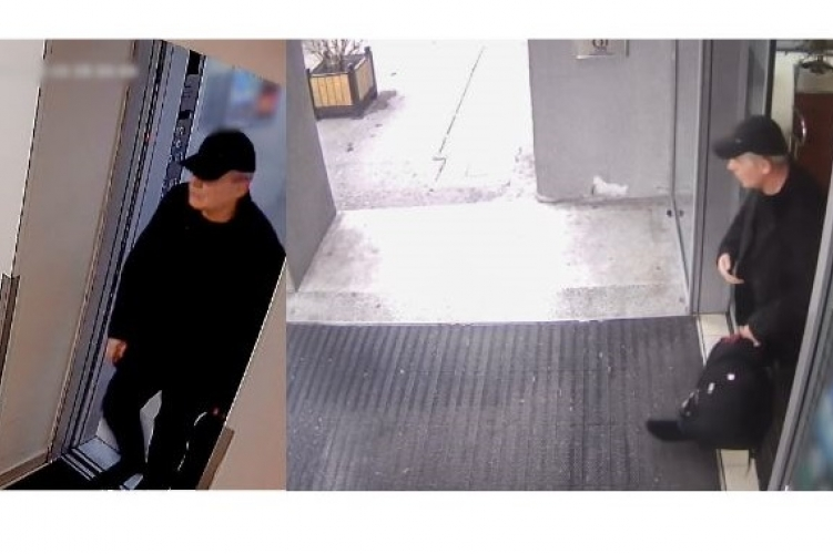cf9bc4c021 Ezt a feketébe öltözött férfit azért keresik, mert egy hotelban lopott
