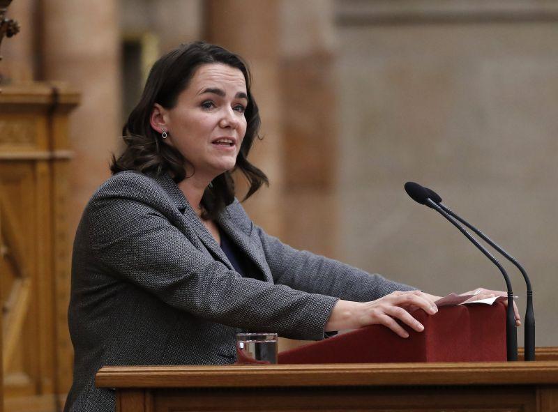 Novák Katalin: a Fidesz kezdeményezte néppárti tagságának felfüggesztését
