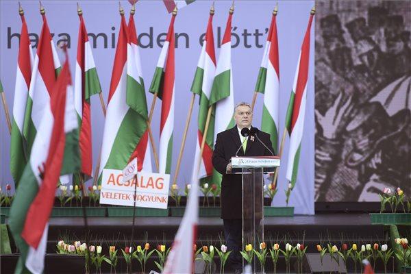 Orbán szerint ez a hasonlóság napjaink és az 1848-as forradalom között