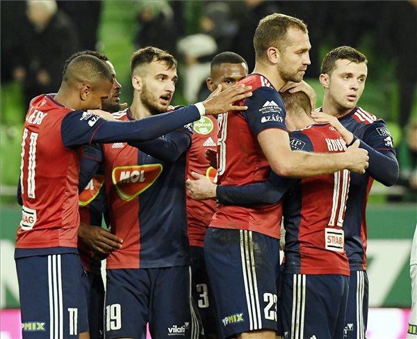 Idegenben verte a Vidi a Ferenvárost a labdarúgó Magyar Kupa negyeddöntőjének első meccsén