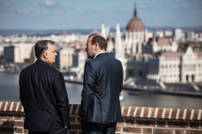 """Weber a """"jó szándék jeleit"""" tapasztalta Orbán Viktor részéről"""