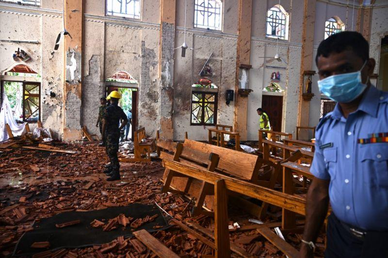 Srí Lankán már 359-re emelkedett az áldozatok száma