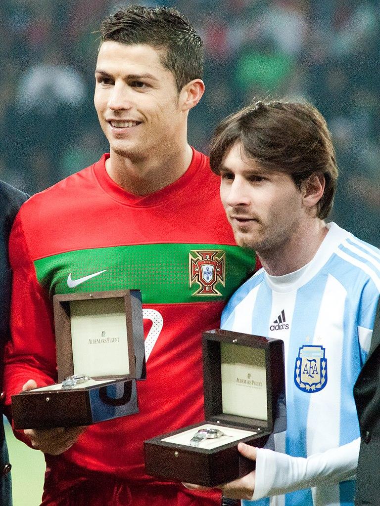 Szív küldi szívnek – Messi és Ronaldo szerelmespárként beszélt egymásról
