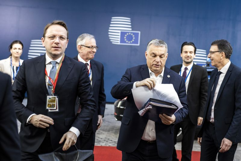 A kormány szerint vádakat kohol Orbán ellen az Európai Parlament