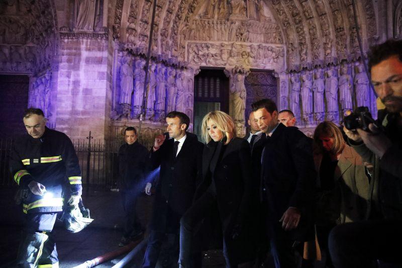 Tűz a Notre Dame-ban: értékes műkincseket sikerült megmenteni