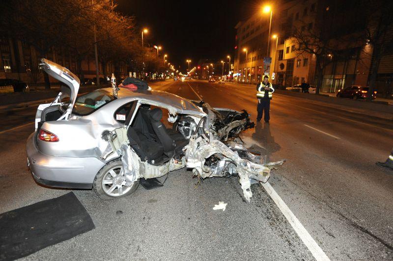 fa8f7b9a53 Padkának hajtott egy autós a Váci úton, ez lett belőle – fotó ...
