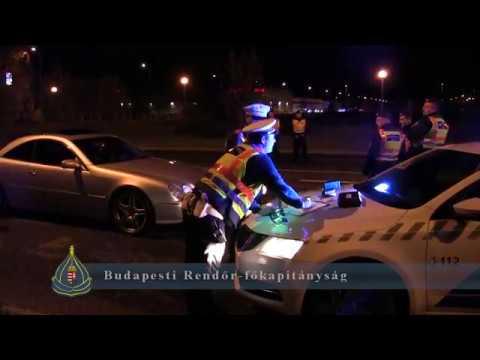 A rendőrség lecsapott a gyorsulási versenyzőkre Újpesten péntek éjjel