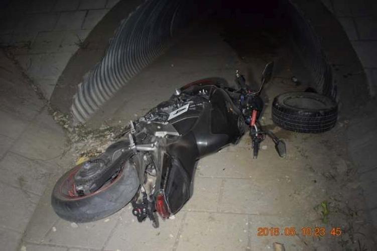 Meggyűlt a baja a részeg motorosnak a körforgalommal – ez lett a sikertelen kanyarodás vége