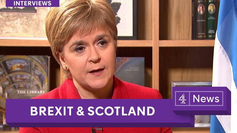 335676b72d A Brexit miatt újabb függetlenségi népszavazást akar a skót kormányfő. Fotó:  Youtube