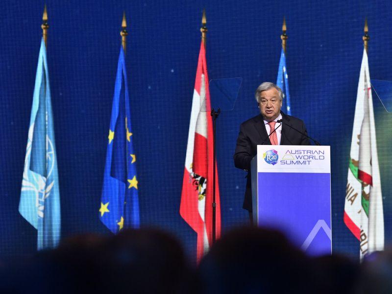 ENSZ-főtitkár: a klímaváltozás a legmeghatározóbb ügye a világnak