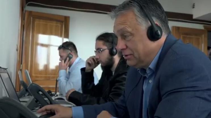 Orbán személyesen is felhívott pár szavazót