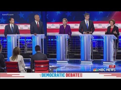 Az egészségbiztosítás és a bevándorlás ügye uralta az amerikai demokrata párti elnökjelölt-aspiránsok első vitáját