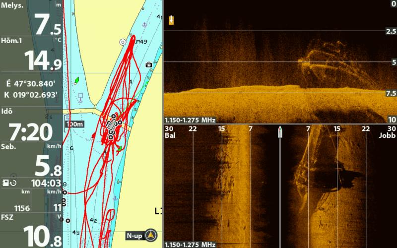 Részletes szonárképeket tettek közzé a Duna mélyén heverő Hableányról