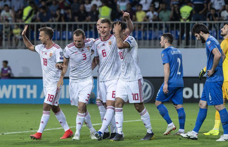 Vezeti az EB-csoportot a magyar válogatott, biztos lábbal győztük le Azerbajdzsánt