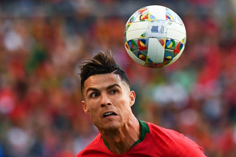Cristiano Ronaldo beindult