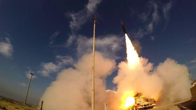 Alaszkában lövöldözött rakétákkal Izrael