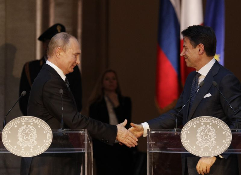 Putyin is az EU új vezetőiben reménykedik