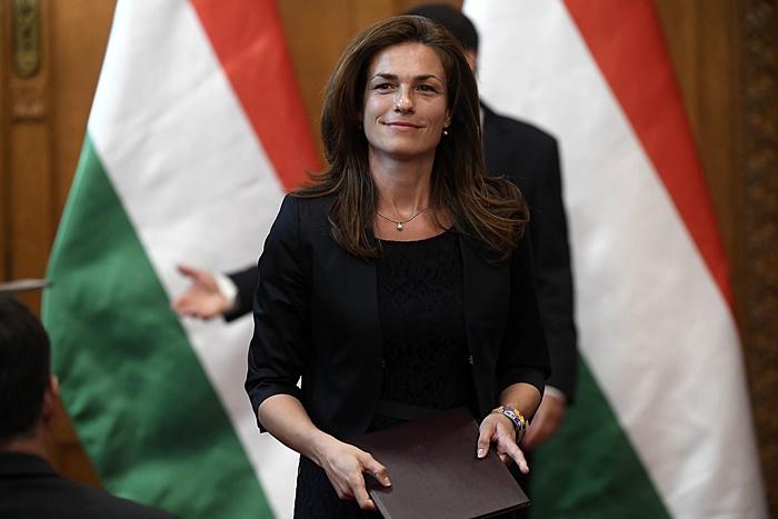 Varga Judit: a magyarok nem lebontják, hanem védik Európa értékeit