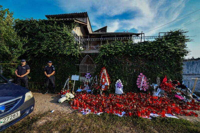 A román kislány maradványait találták meg a gyilkos házában