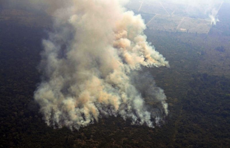 Bevetik a brazil hadsereget az erdőtüzek ellen