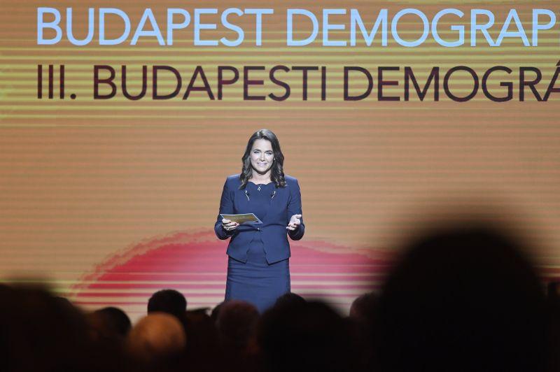 Novák Katalin nagyon elégedett saját rendezvényével
