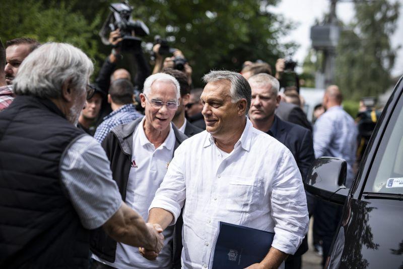 Erről beszél Orbán Viktor a kötcsei pikniken
